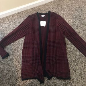Croft and Barrow Cardigan Sweater New